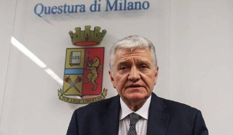 Antonio De Iesu, Questore di Milano